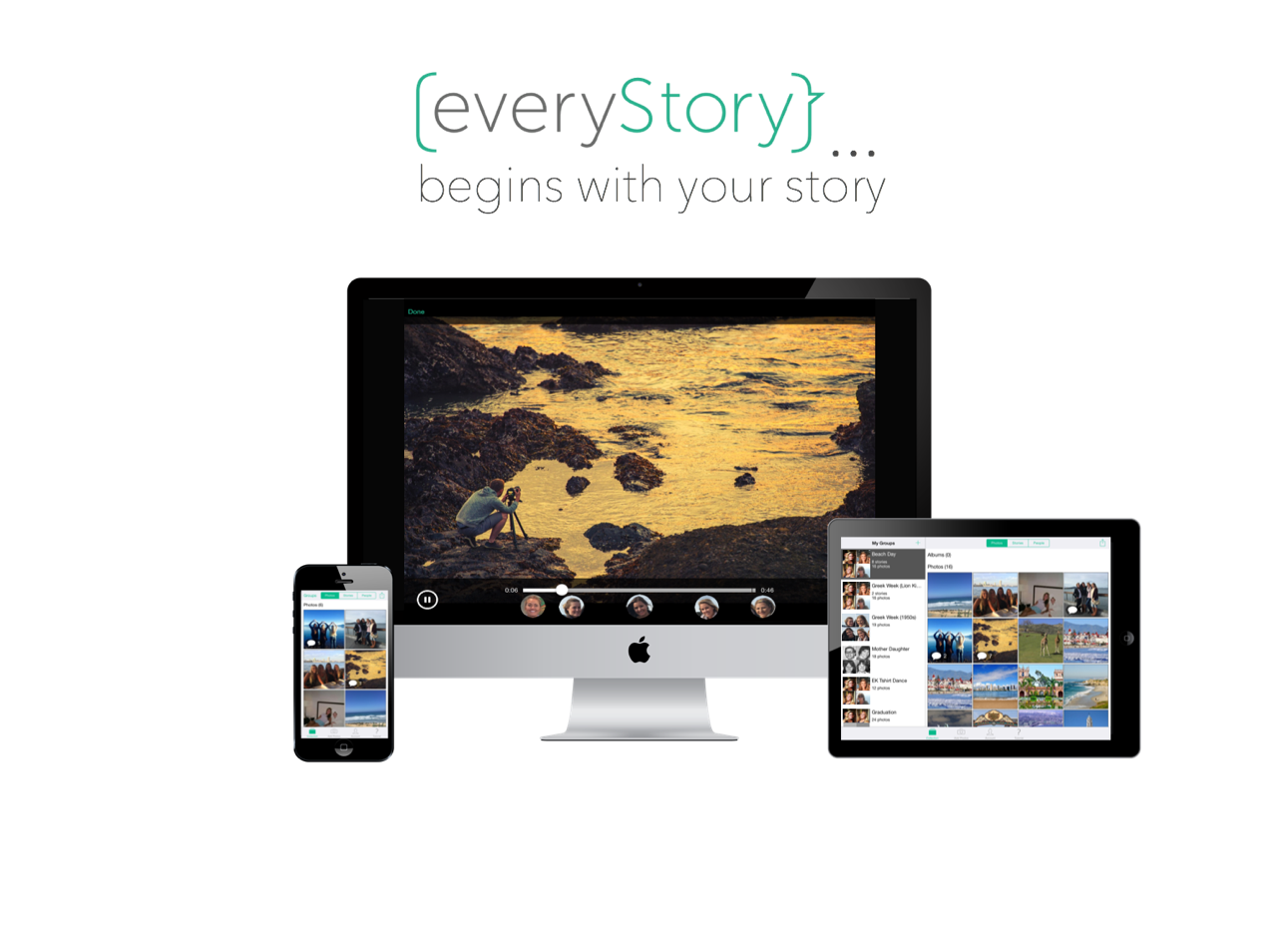 everyStory, new cloud-based story-sharing platform, launches today on iOS